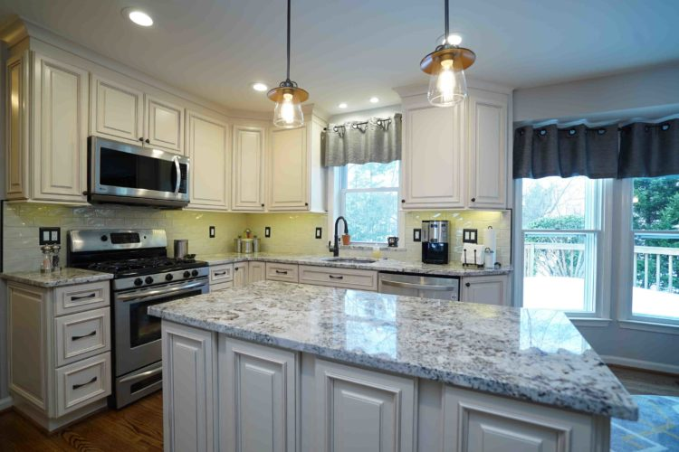 Granite countertop costs in the US