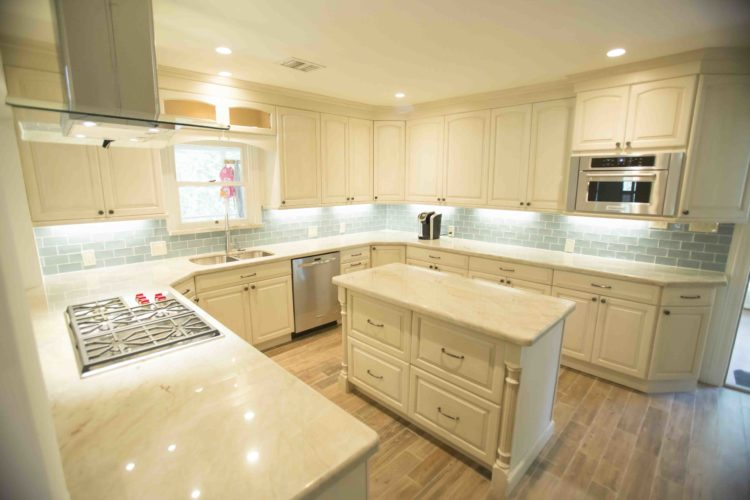 Quartz countertop in Fairfax