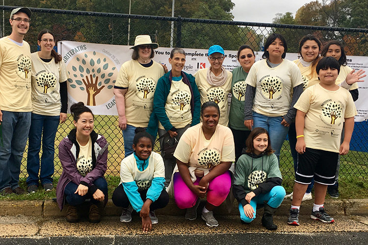 Fairfax Honors MLK Jr.'s Legacy with Family Volunteer Event