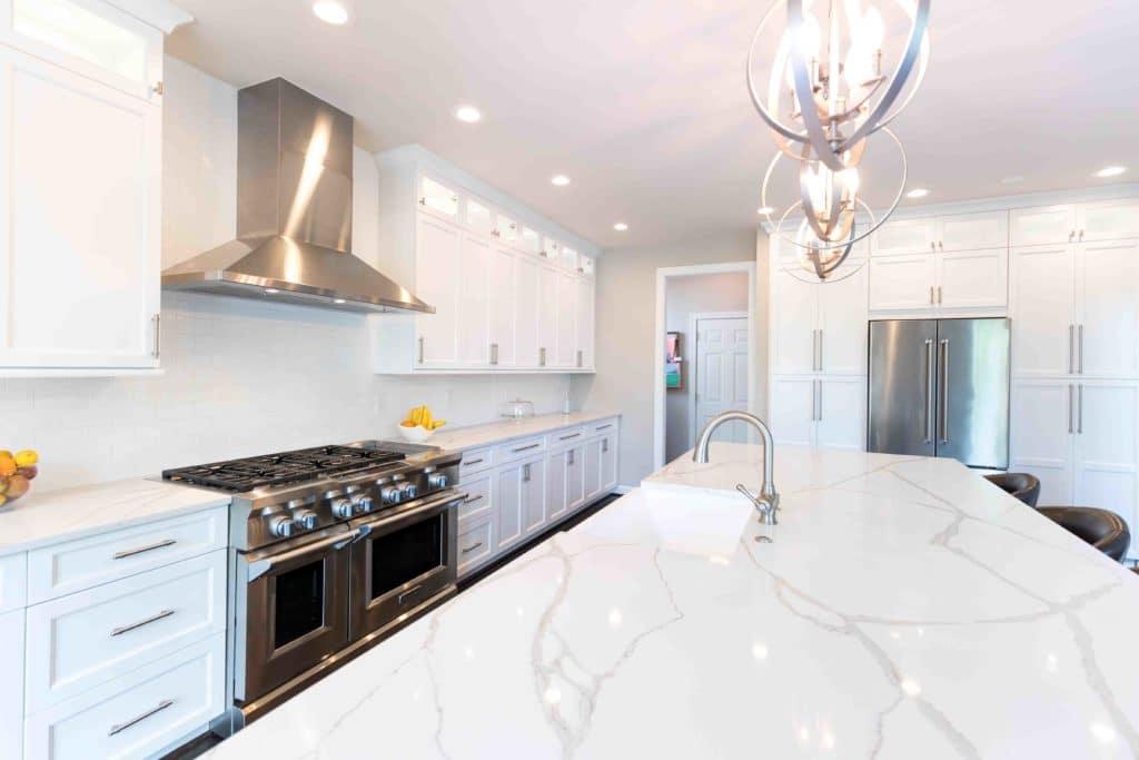 quartz in kitchen