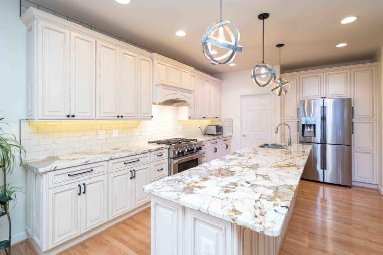granite kitchen countertops cons