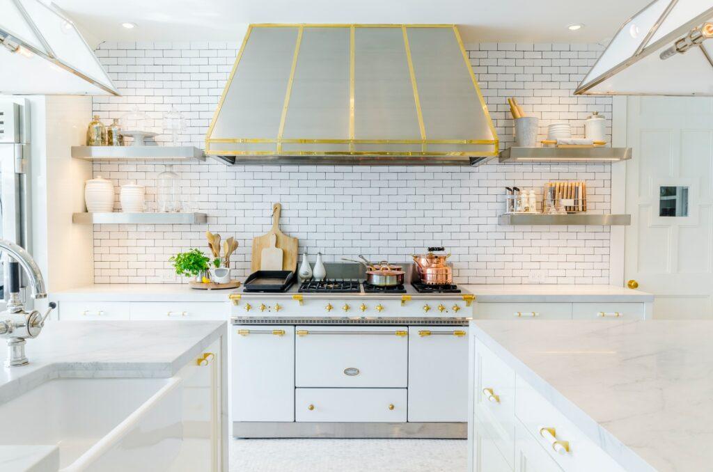 marble kitchen countertop in Fairfax