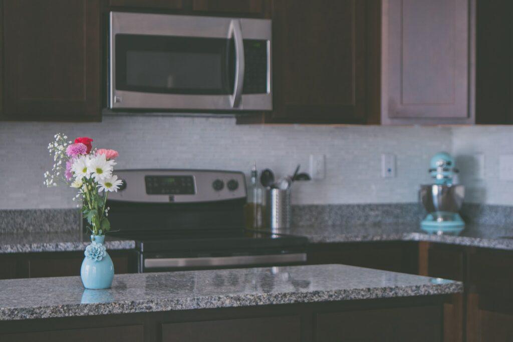 neutral granite tones